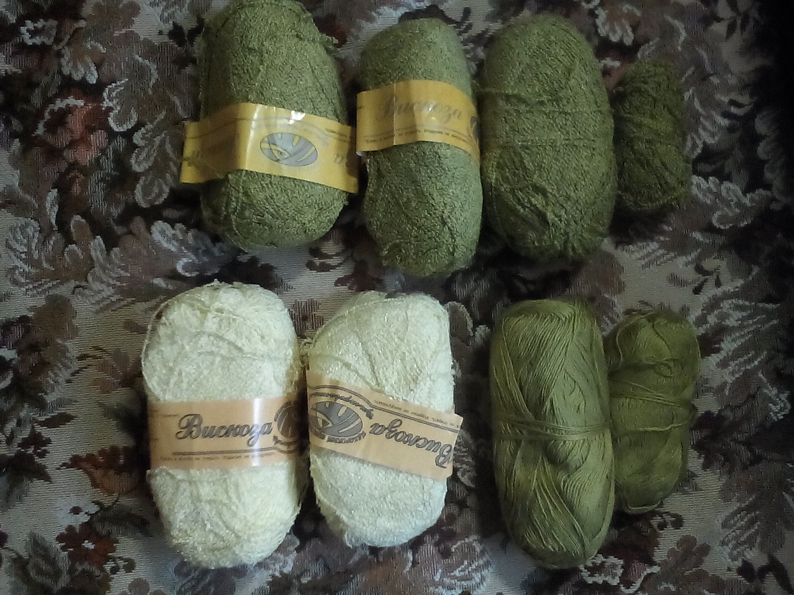 нитки для ручного вязания